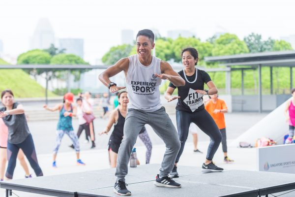 free zumba classes singapore sports hub fit-sessions