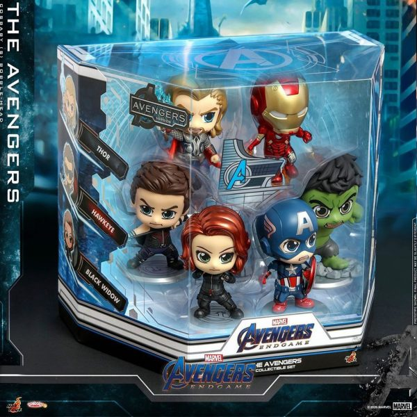 the avengers cosbaby bobble head figurine marvel