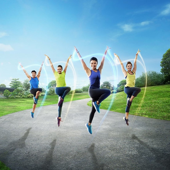 free zumba classes singapore sundays @ the park