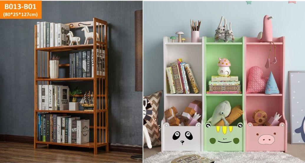 bookshelf study room design