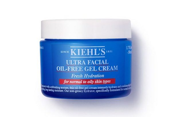 best face moisturiser kiehl's ultra facial oil-free gel cream oily skin