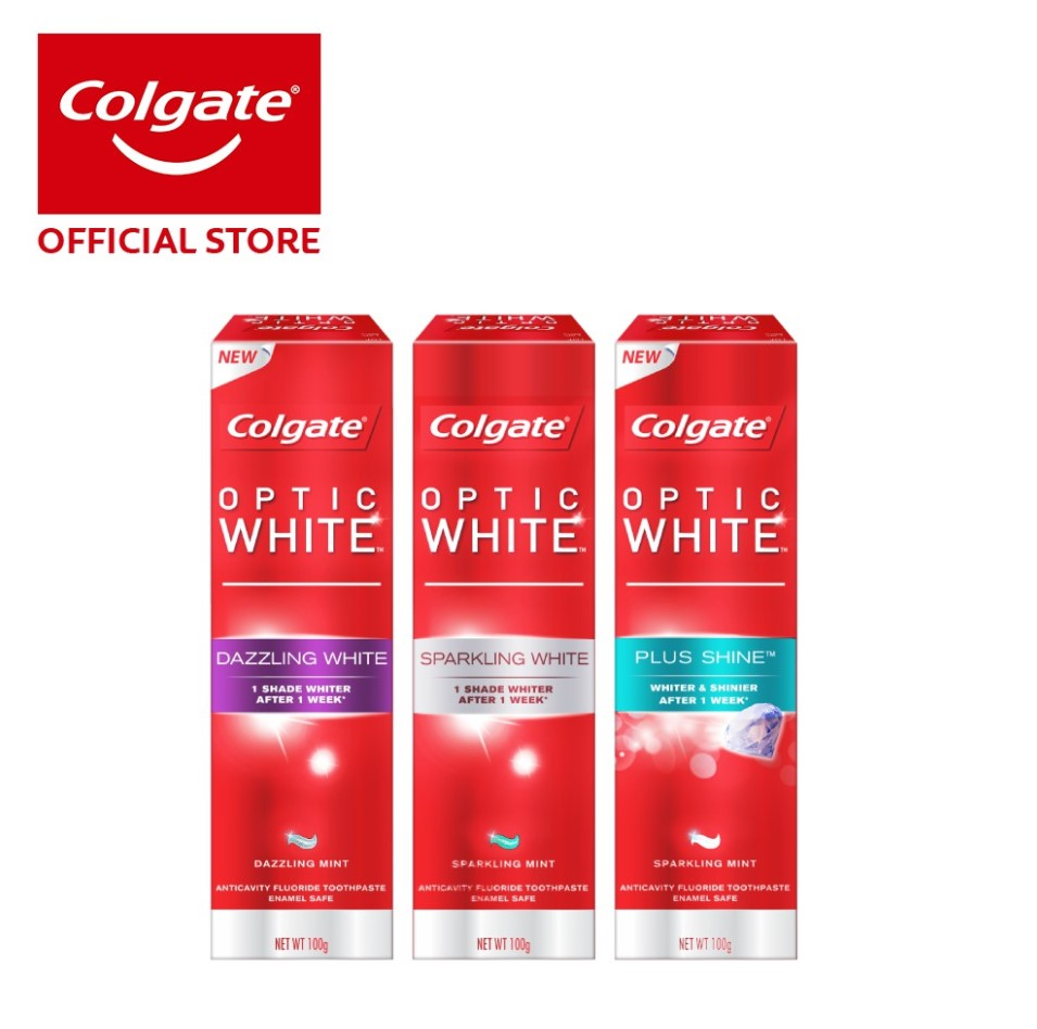Colgate Optic White Assorted Whitening Toothpaste