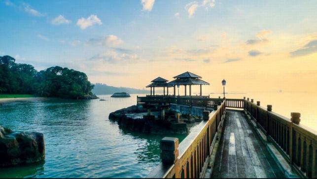 pulau ubin camping in singapore