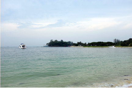 pulau hantu besar lazarus island camping in singapore