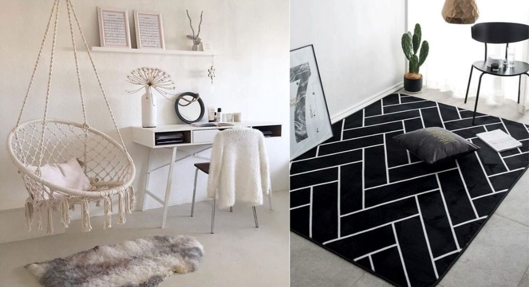 rug study room design kids