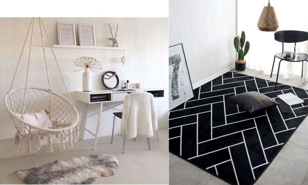 rug study room design kids