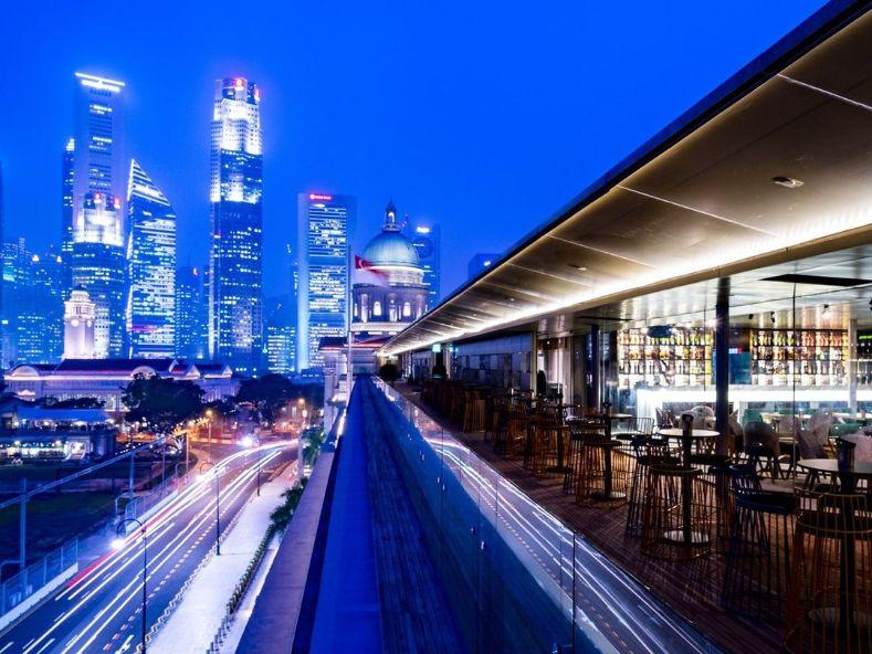 art romantic restaurant singapore