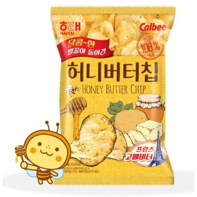 CNY honey butter chips