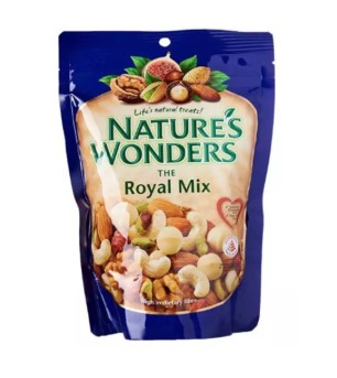 nature's wonders mixed nuts healthy snacks in singapore