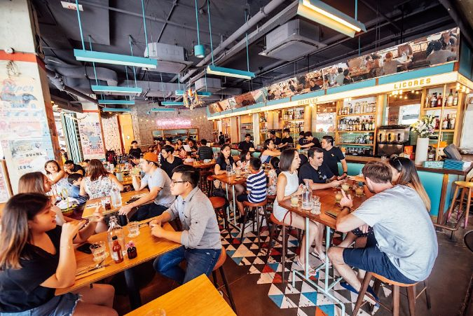 super loco robertson quay romantic restaurant singapore