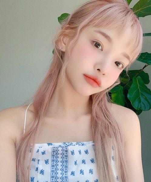 best hair colour for asian 2021 hair trend blush blonde 3ce stylenanda model midori