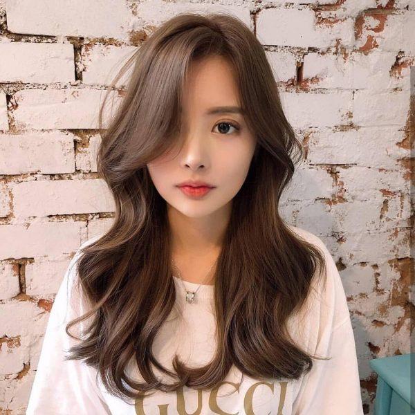 best hair colour for asian smoky milk tea brown