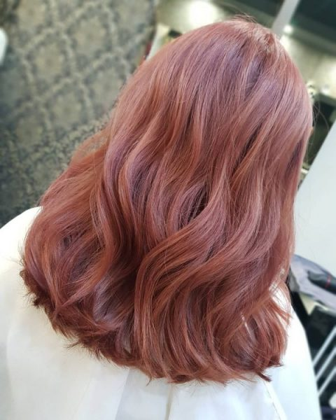 best hair colour for asian strawberry teddy bear pink brown