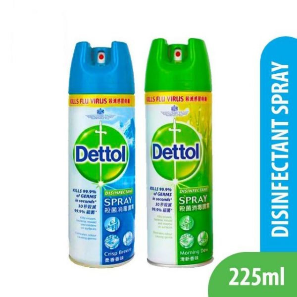 household cleaning products dettol disinfectant spray antibacterial