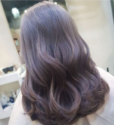 2021 hair trend lavender brown work appropriate hair colour best hair colour for asian