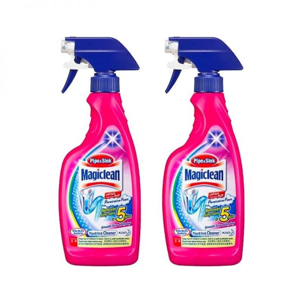 household cleaning products magiclean sink and pipe cleaner spray