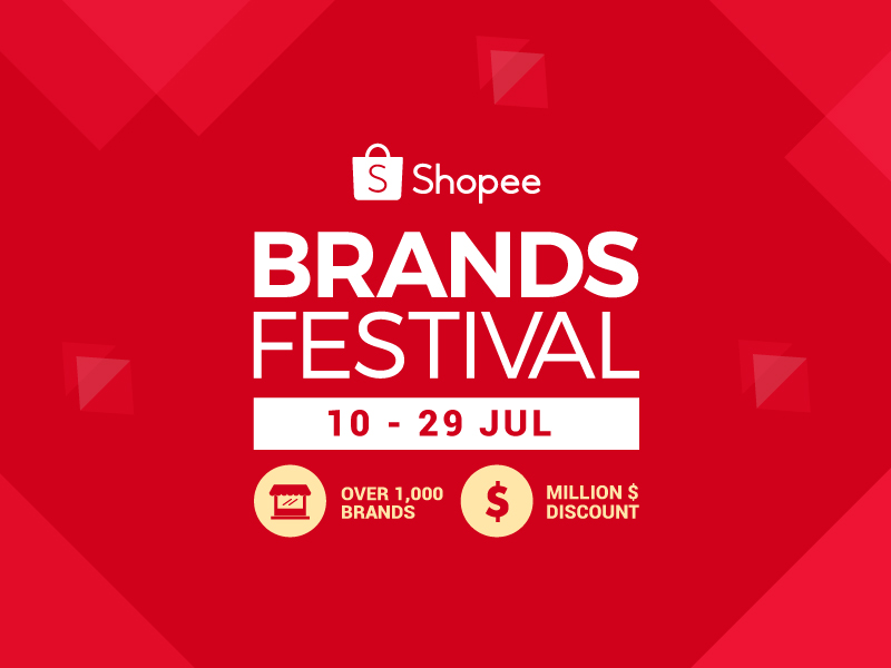 Shopee Brands Festival Shop From Over 1 000 Brands And Enjoy Million Discount Promotions From 10 29 July