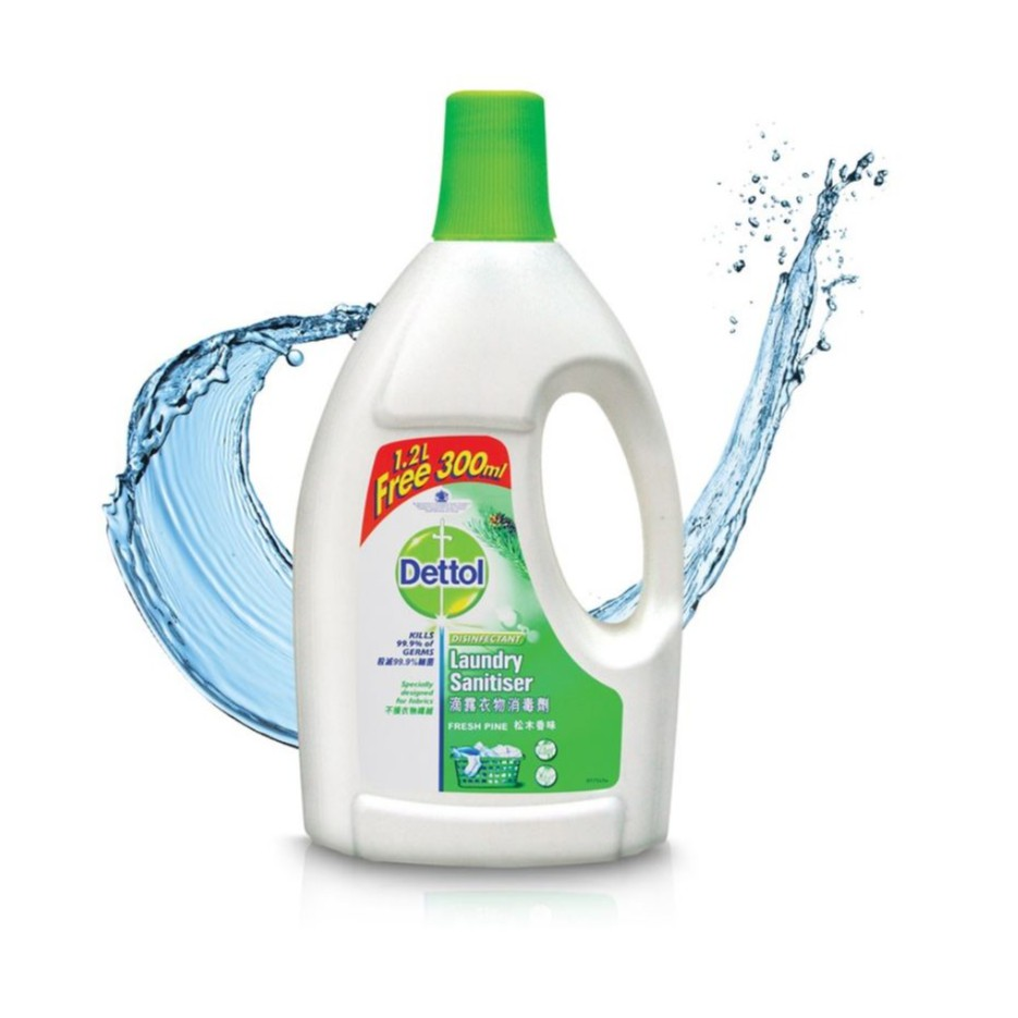 dettol laundry sanitiser household cleaner