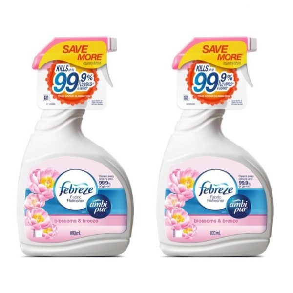 household cleaning products febreeze antibacterial fabric refresher spray clothes