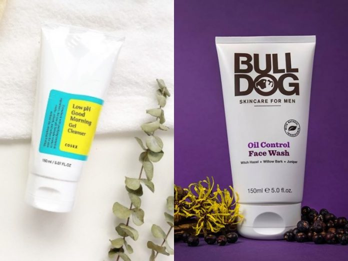 featured image best face washes for men