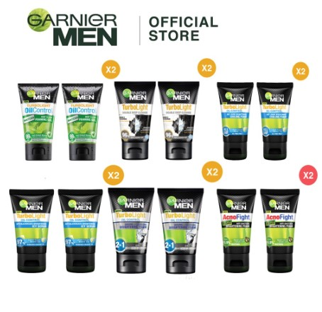 garnier for men best face washes for men