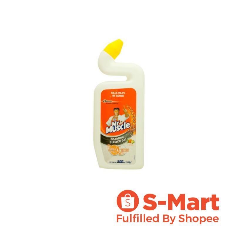 mr muscle foaming bleach gel household cleaner