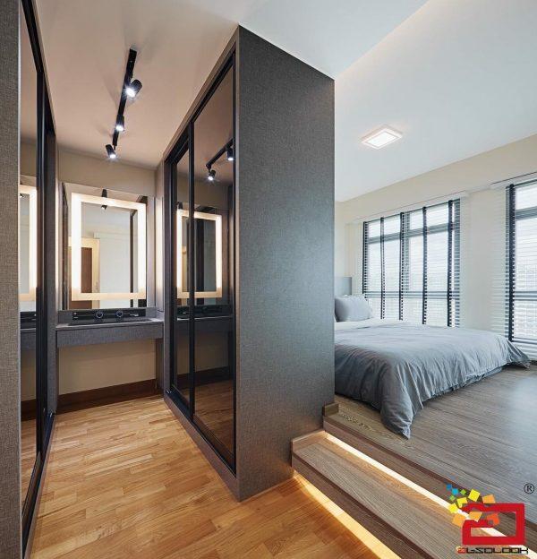 5 Dream Walk In Wardrobe Design Ideas For Your Hdb Flat