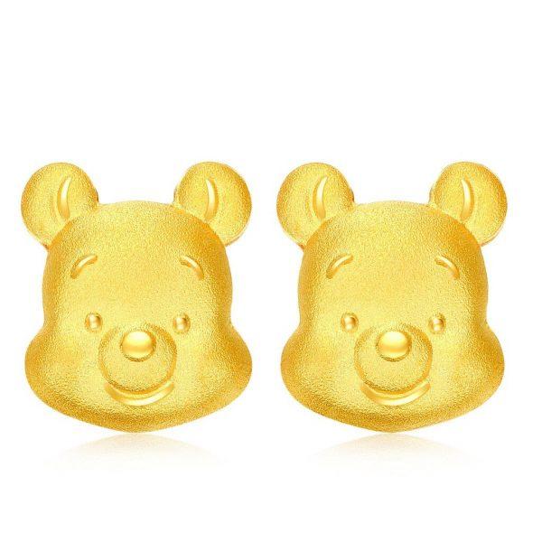 ear piercing for kids singapore gold earrings chow tai fook pooh bear
