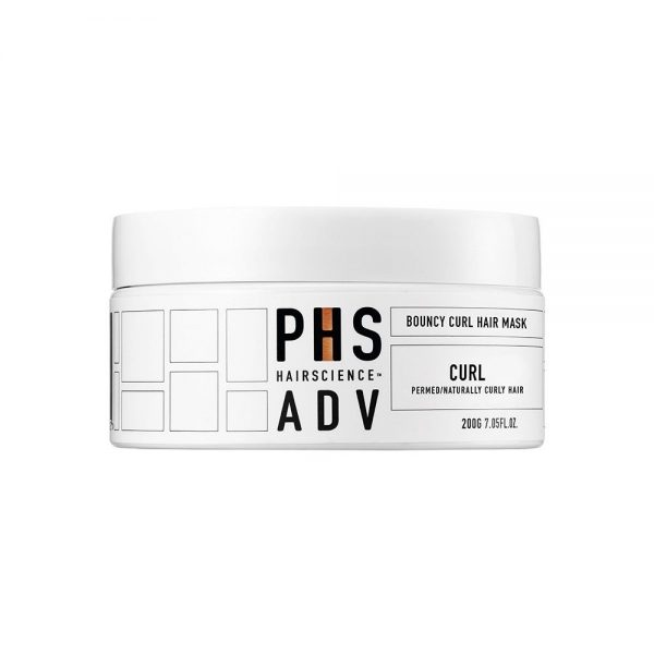 PHS hairscience hair mask for curly hair