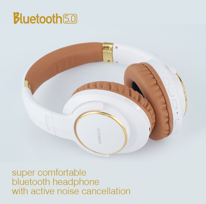 SonicGear AirPhone ANC3000 Best Noise Cancelling Headphones
