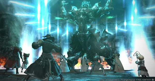 ff7 remake alternative to play with other players ff14 MMORPG