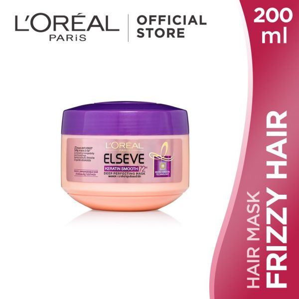 loreal paris hair mask for frizzy hair