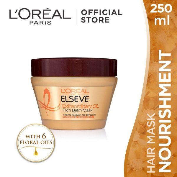 loreal paris oil balm best hair mask for normal hair