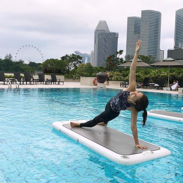 skyline aquafit hiit class singapore