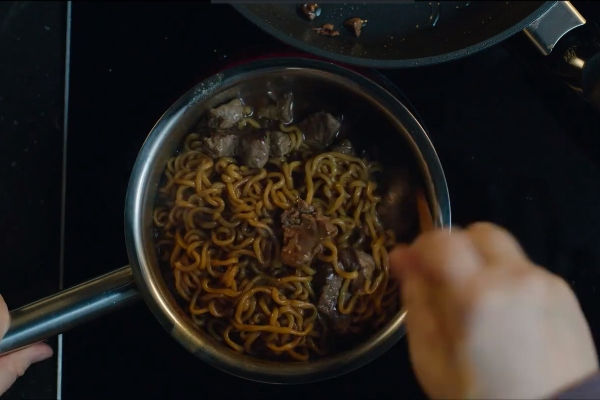 parasite oscars movie easy korean recipe ram don jjapaguri steak