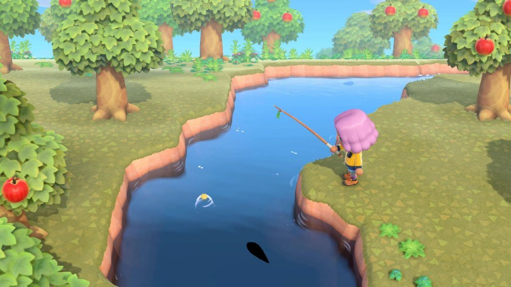 relaxing fishing in animal crossing new horizons best nintendo switch games