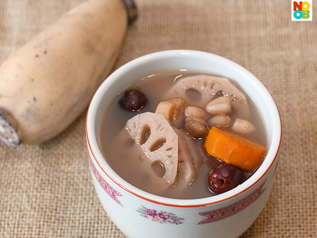 Lotus Root Soup