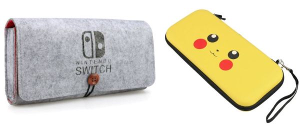 carry cases collage best nintendo switch accessories