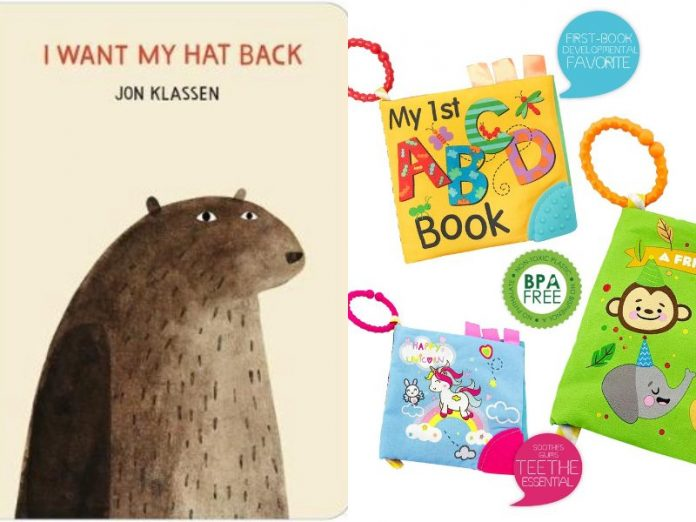 best children's book storybook for kids i want my head back cloth book