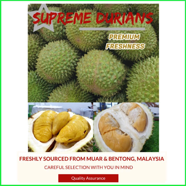 supreme durian delivery singapore