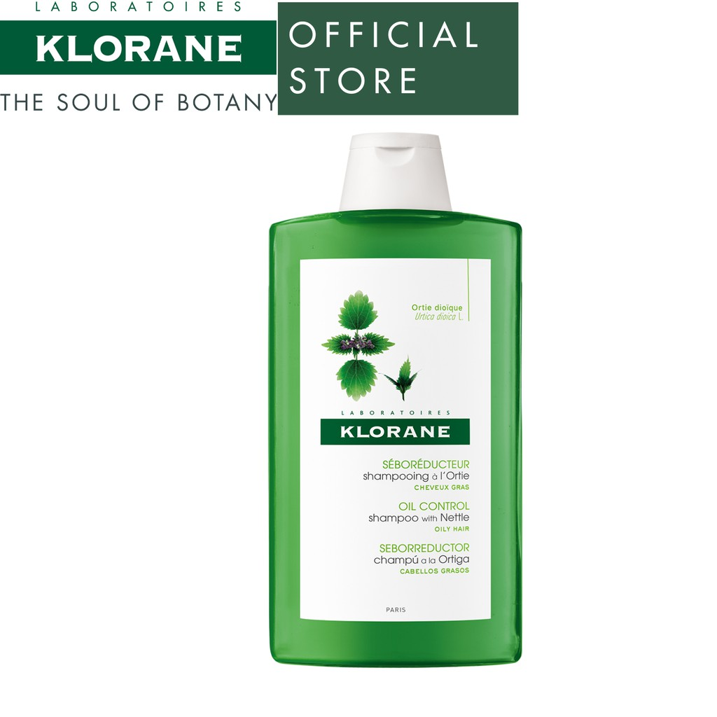 klorane oil control shampoo hair care routine singapore