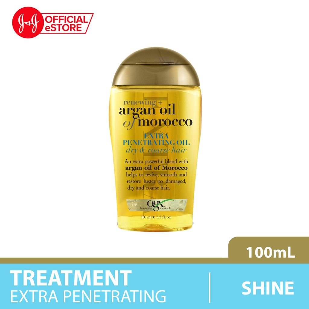 ogx penetrating oil hair care routine singapore