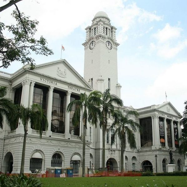victoria concert hall historical places singapore