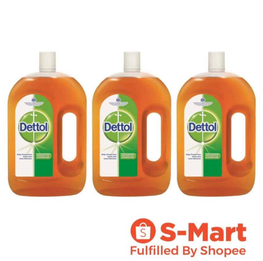 Dettol Antiseptic Germicide - 2L x3