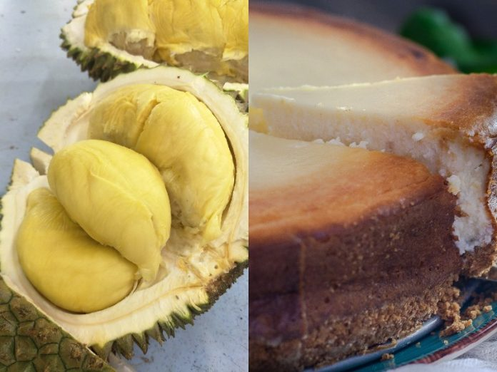 durian cheesecake durian cake recipe featured image