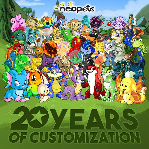 neopets anniversary neopets mobile