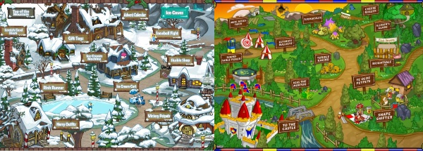 neopia maps collage neopets mobile