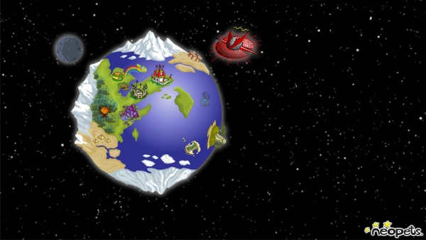 neopia world map neopets mobile