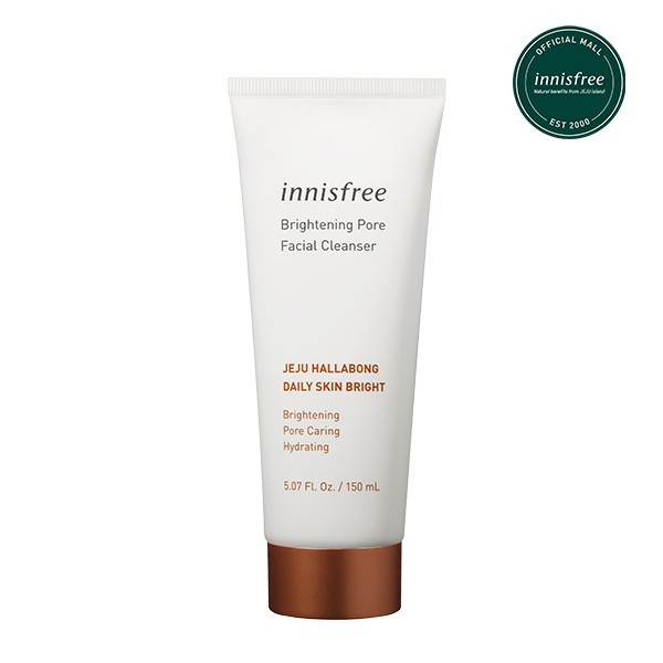 how to get glowing skin innisfree brightening pore facial cleanser