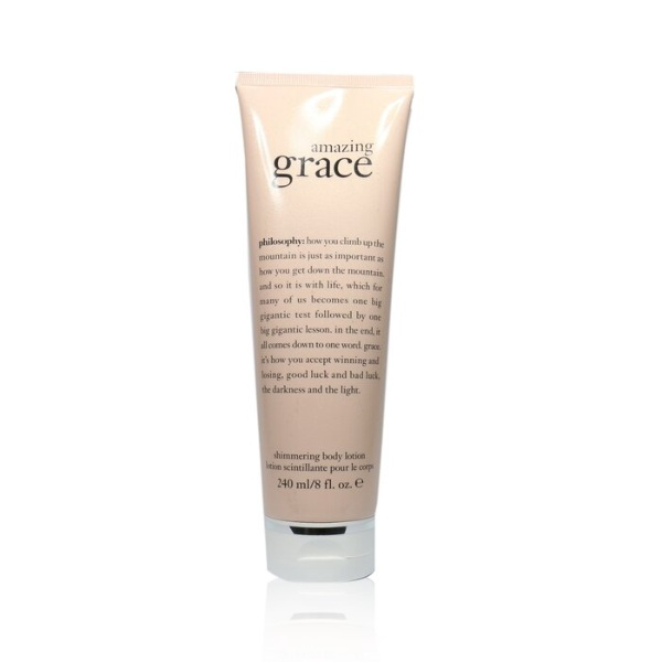 how to get glowing skin philosophy amazing grace shimmering body lotion